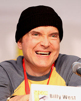 Billy West op de San Diego Comic Con in 2010