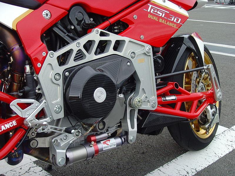 Ducati Hypermotard Frame