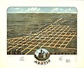 Bird's eye view of Austin, Mower County, Minnesota 1870. LOC 73693451.jpg