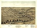 Bird's eye view of Blairstown, Benton Co., Iowa 1868. LOC 73693390.jpg