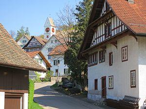Birmensdorf, Zürich - Image: Birmensdorf Dorfkern
