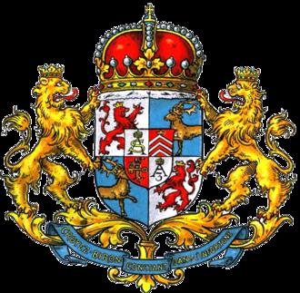 Coat of arms of Latvia - Image: Biron COA