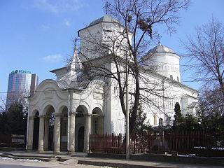Barnovschi Church heritage site in Iași County, Romania