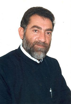 Sebouh Chouldjian - Image: Bishop Sebouh Chouldjian of the Diocese of Gougark