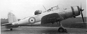 Blackburn Roc - The prototype Roc in May 1939