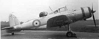 Blackburn Roc - The prototype Roc in May 1939