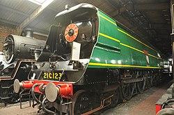 Blackmoor Vale in Sheffield Park locomotive shed (2385).jpg