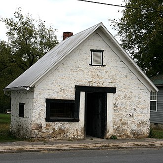 Wardensville, West Virginia - Image: Blacksmith Jail Wardensville