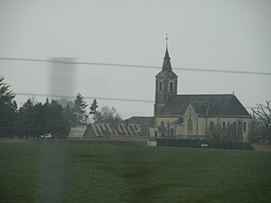 Blandainville - Image: Blandainville (depuis A11)