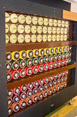 Bombe - Image: Bletchley Park Bombe 4