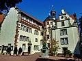 Blick auf die Rückseite des Rathauses von der Weinstr. aus - panoramio.jpg