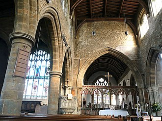 Bloxham - Inside the parish church of Our Lady