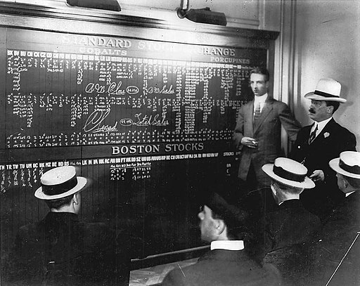 Board at the Toronto Stock Exchange