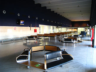 Seville Airport - Gate area