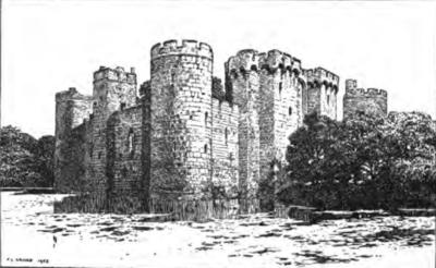 Hamlet Castle Drawing Bodiam Castle.png