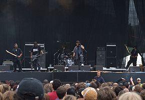Body Count se apresenta em um show em Praga em 2006.