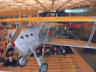 Boeing Model 15 - A Boeing FB-5 preserved at the Steven F. Udvar-Hazy Center.