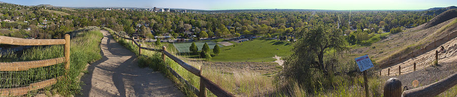Boise Panorama from Camelsback Park