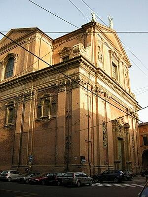 Santissimo Salvatore, Bologna - Image: Bologna, san salvatore 02