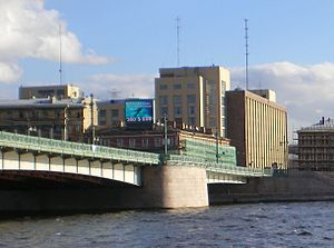 Liteyny Bridge, Bolshoy Dom in Saint Petersburg
