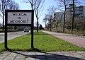 Bord Welkom in Meijhorst.JPG