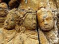 Borobudur - Lalitavistara - 008 E, King Suddhadana and Queen Maya (detail 3) (11247977905).jpg