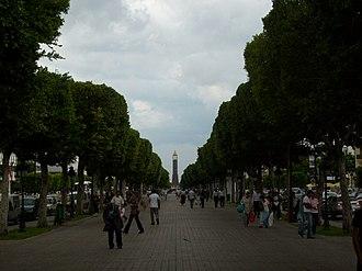 Avenue Habib Bourguiba - Image: Bourguiba Avenue Tunis