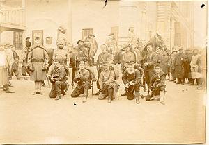 Eight-Nation Alliance - Eight-Nation Alliance soldiers and European recruits