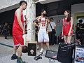 Boy, Lily Cao and Dabao Lin preparing 20200704a.jpg