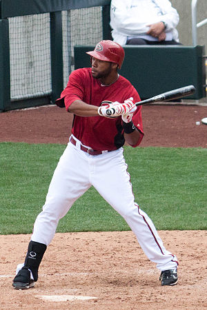 Brandon Allen (baseball) - Allen with the Arizona Diamondbacks