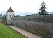 Brasov city wall