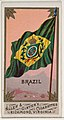 Brazil, from Flags of All Nations, Series 1 (N9) for Allen & Ginter Cigarettes Brands MET DP831940.jpg