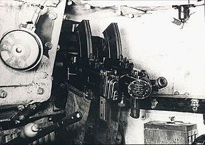 Breda 38 - Hull-mounted double Breda Mod. 38 in a Fiat M13/40 tank