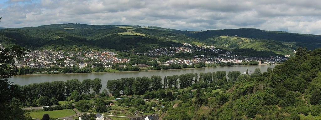 Brey und Rhens am Rhein