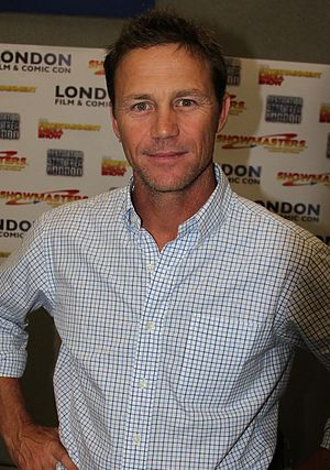Brian Krause - Krause at the London Film and Comic Convention in July 2012