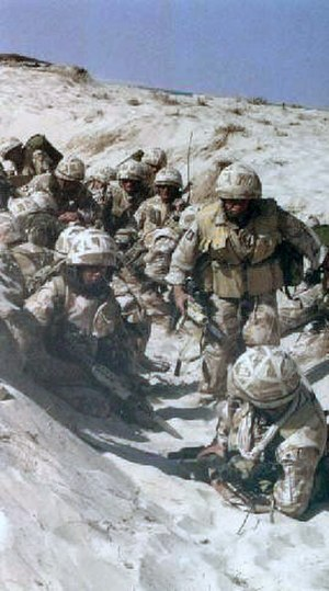 Operation Granby - Image: British gulf war
