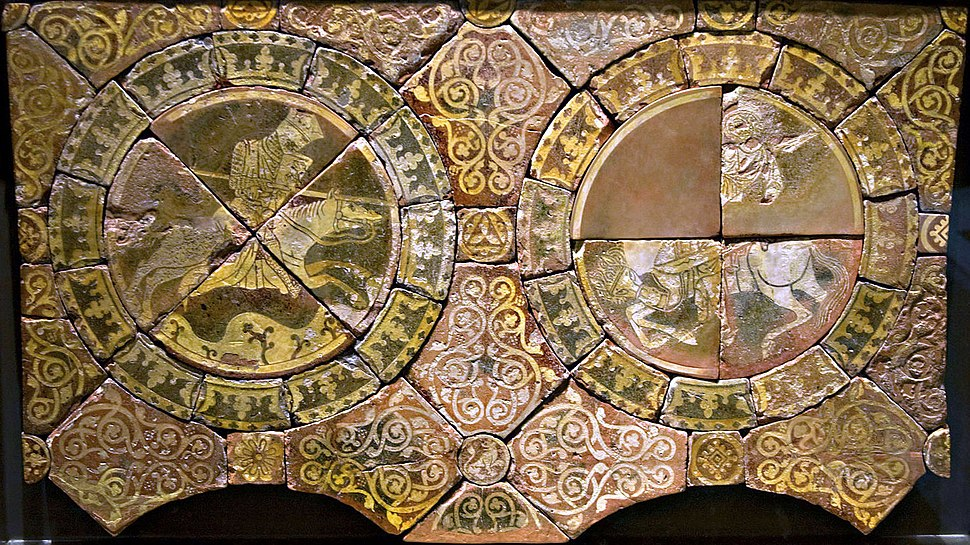 Britishmuseumrichardandsaladintiles