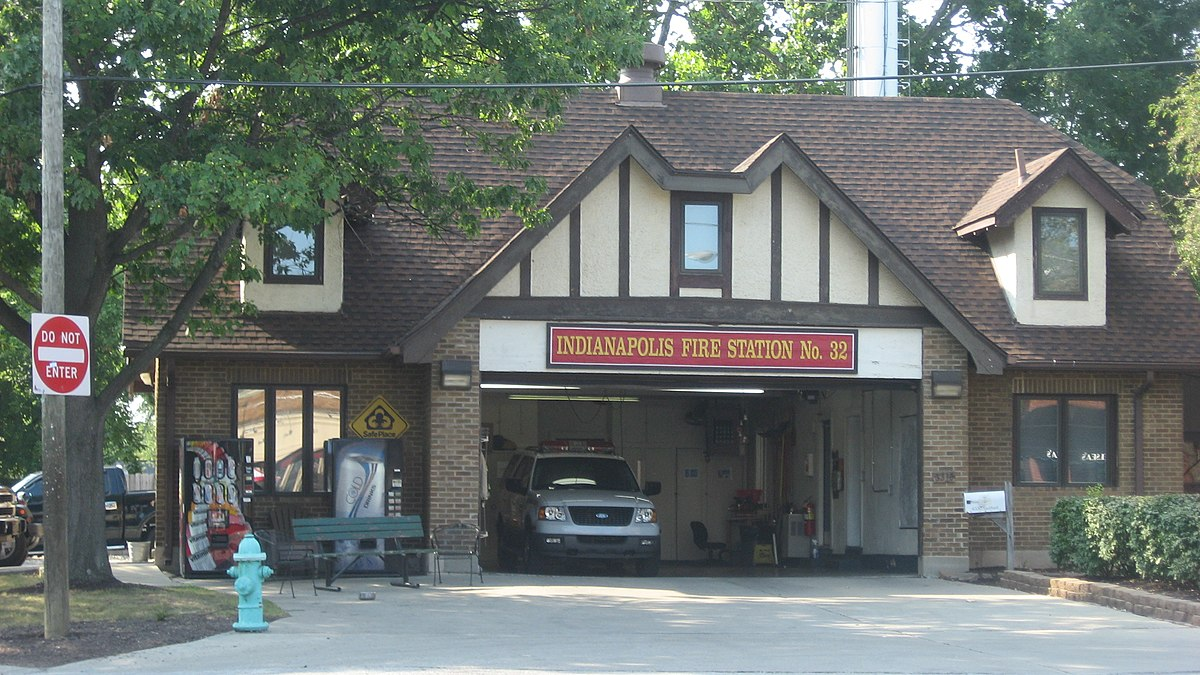 Broad Ripple Firehouse Indianapolis Fire Department