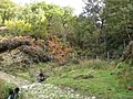 Broadhead Clough piped under the footpath - geograph.org.uk - 1525655.jpg