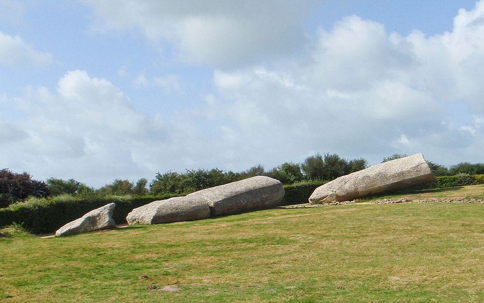 The Broken Menhir of Er Grah in Locmariaquer, Brittany