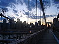 Brooklyn Bridge at sunset.JPG