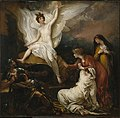 Brooklyn Museum - The Women at the Sepulchre (The Angel at the Tomb of Christ) - Benjamin West - overall.jpg