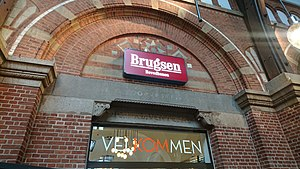 Coop amba - Brugsen at Copenhagen Central Station