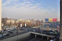 Bucharest - Piata Victoriei from 5th floor balcony 01.jpg