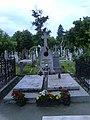 Bucuresti, Romania. Cimitirul Bellu Catolic. Mormantul Episcopului Martir IULIU HOSSU, Beatificat in 2 Iunie 2019 de catre PAPA FRANCISC.jpg