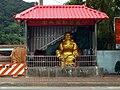 Budai statue between Wufu Bridge and Gongjian West Road 20170707.jpg