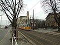 Budapešť, Víziváros, dolní budínské nábřeží, tramvaj.jpg