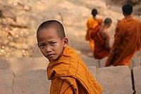 Buddhist child monk in Wat Phou.jpg