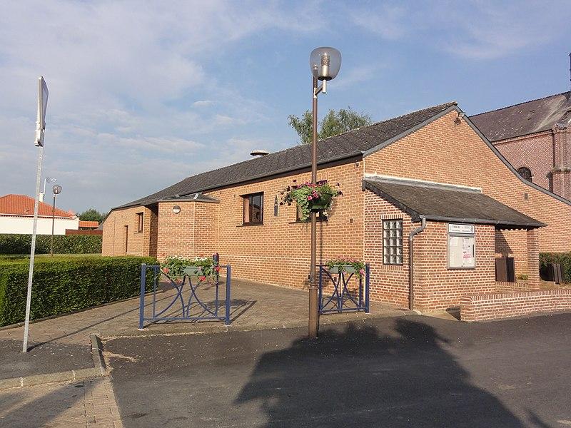 Buire (Aisne) un bâtiment communal