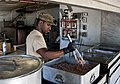Bullets, burgers and beans, Army cook slings chow at combat outpost 130301-A-NS855-008.jpg